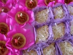 Tortinhas e barquetes  doces
