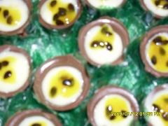 Copinhos de chocolate e mousse
