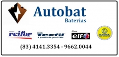 Baterias com entrega em domicilio 24 horas, em toda joao pessoa paraiba, com check up eletrico grátis. troca de oleo