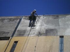 Limpeza de fachadas e prédios