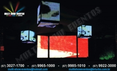 Painel led ph40 e cubo led ph40 - 1m�