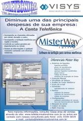 Software de tarifação das ligações para todas as marcas de  pabx