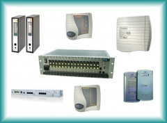 Espera telef�nica, atendimento digital, gravadores telef�nicos, interface celular, c�meras, etc.