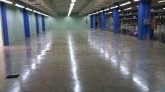 Piso industrial de concreto