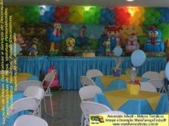 Decora��o da galinha pintadinha maria fuma�a festas j� tem fotos dos personagens que v�o decorar a sua festa infantil. veja mais em: http://www.mariafumacafestas.com.br/temas/galeria-galinha-pintadinha.shtml