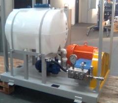 Conjunto de alta pressão de hidrojateamento - 15000 psi