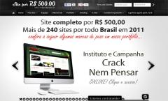 Desenvolvimento de página de internet