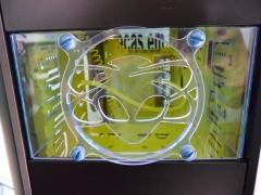 Baia fan 80mm + lasergrill alien