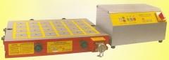 Placas magneticas quadripolares eletropermanentes p/ centros de usinagem cnc diversas medidas