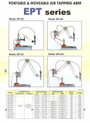 Rosqueadeira pneumatica com base magnetica para fixaÇÃo
