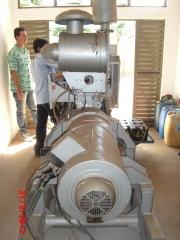Manuten��o em gerador 181 kva