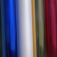 Peliculas de controle solar: arquitetura em diversas cores: vermelha ,verde,azul,bronze,dourada,fume,jateada branca,black-out,etc.