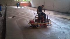 Piso de concreto - acabamento