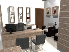 Projeto escritorio em mdf