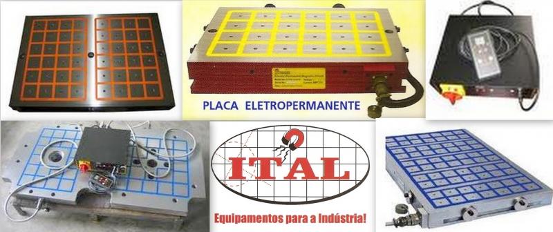 PLACAS ELETROPERMANENTES - ITAL PRODUTOS INDUSTRIAIS LTDA