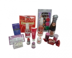 Produtos românticos para serem incluidos em sua cesta romântica.