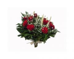Buquet de rosas vermelhas