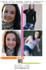 Book fotográfico de 15 anos, modelos