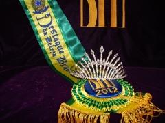 Confecção de faixas e coroas para concursos de beleza