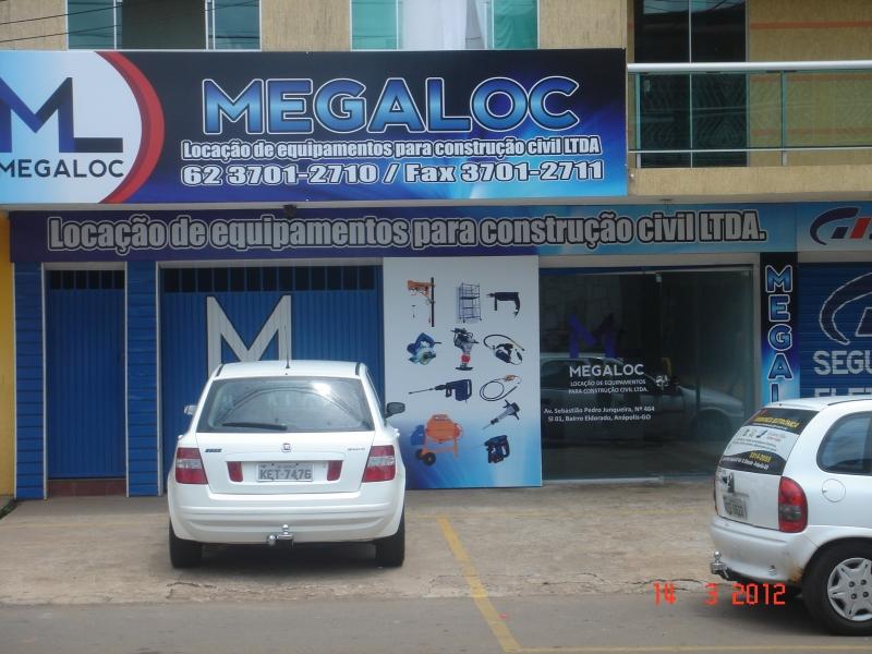 MEGALOC LOCACAO  DE  EQUIPAMENTOS PARA CONSTRUCAO CIVIL LTDA