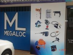 Foto 108 aluguel e arrendamento de máquinas e equipamentos - Megaloc Locacao  de  Equipamentos Para Construcao Civil Ltda