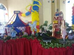Decoração festa infantil - palhaço