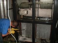 Manutenção preventiva em fan coil