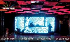 Painel led ph10 e teto mosaico ph40 - 20/04/12