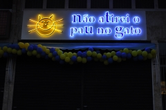 Placa neon