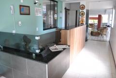 Recepção - hotel algas marinhas