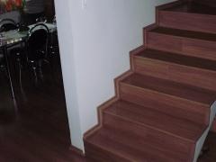 escada piso laminado eucafloor evidence italian noce don pisos
