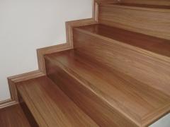 escada piso laminado eucafloor evidence italian noce don pisos 3