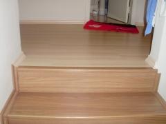 escada piso laminado eucafloor evidence italian noce don pisos 4