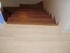 escada piso laminado eucafloor evidence italian noce don pisos 6