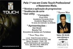 Curso touch professional dia 04 de junho em crato-ce