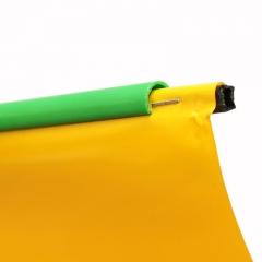 Baguete para acabamento em banner usado em conjunto com perfil C