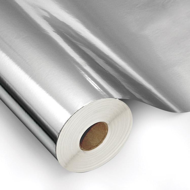 Poliéster prata para recorte ou impressão por serigrafia ou U.V.