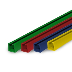 Perfil trilho, barra com 3 metros