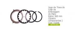 Jogo de trava do colar de embreagem do plato eaton 365 mm (quatro componentes )