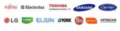 Trabalhamos com as seguintes marcas