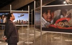 Criação e desenvolvimento de exposição fotográfica.