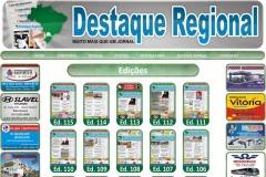 Site desenvolvido para o jornal destaque regional (www.jornaldestaqueregional.com.br)