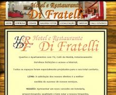Site desenvolvido para o Hotel e Restaurante Di Fratelli (www.hrdifratelli.com)
