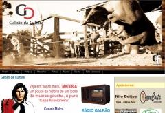 Site desenvolvido para o galpao da cultura (www.galpaodacultura.com.br)