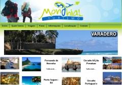 Site desenvolvido para a mondhial turismo (www.mondhialturismo.com.br)