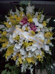 Coroa de flores. seleÇÕes de arranjos