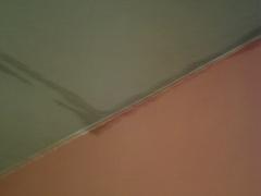Vazamento no andar  superior  da  casa de cima