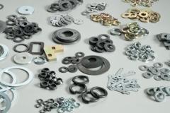 Arruelas diversas e estamparias de aço e metal