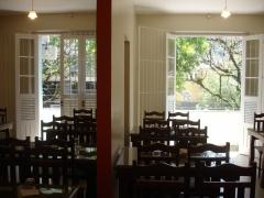 Detalhe do sal�o e acesso a varanda 1 e 2