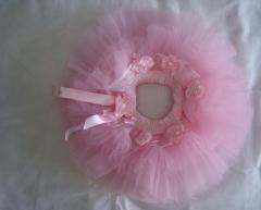 Saia tutu coleção bambolê de bailarina personalizada